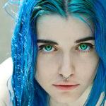 Having Blue Hair