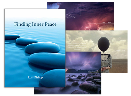 Ross Bishop - Shaman, Spiritual Teacher, Healer and Author of 'Finding Inner Peace' his latest book.